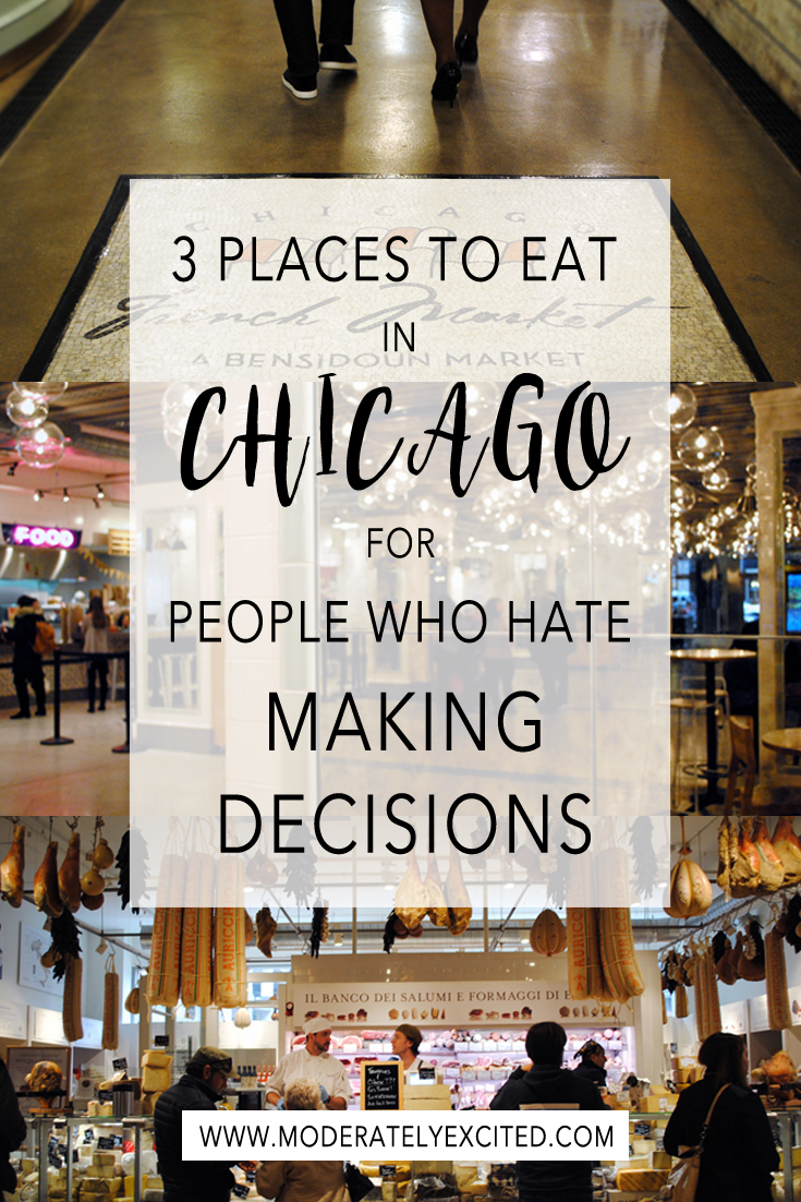 3 Places to Eat In Chicago For People Who Hate Making Decisions