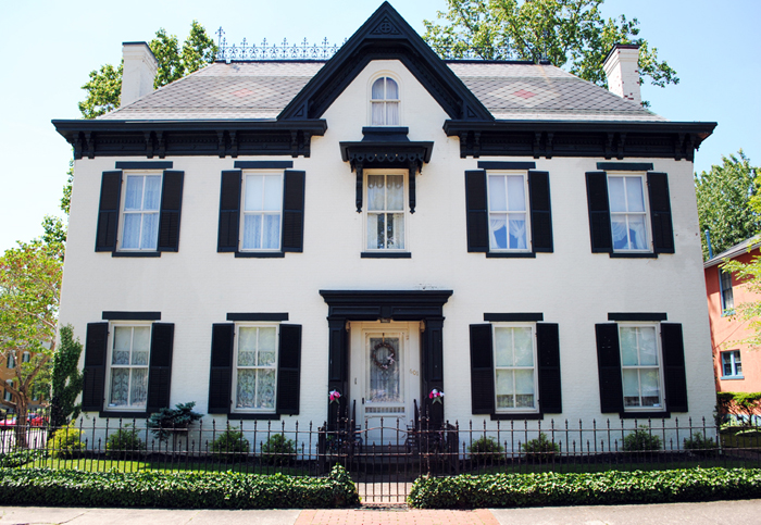 Madison Historic District Greek Revival style architecture