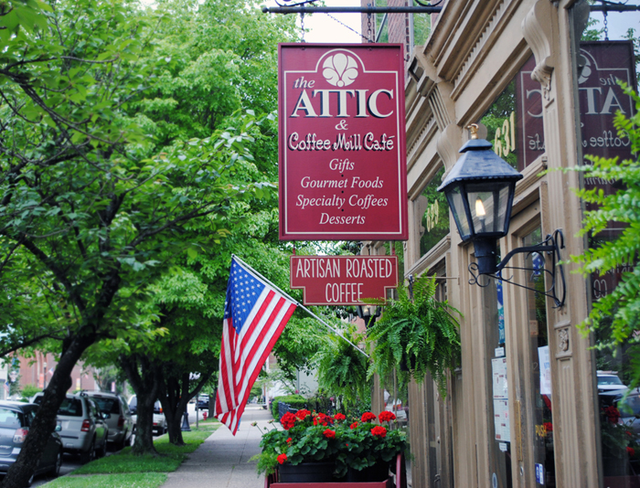 The Attic And Coffee Mill Cafe Madison Indiana