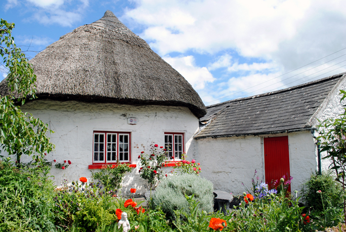 Cottages in Adare, Ireland - historic district