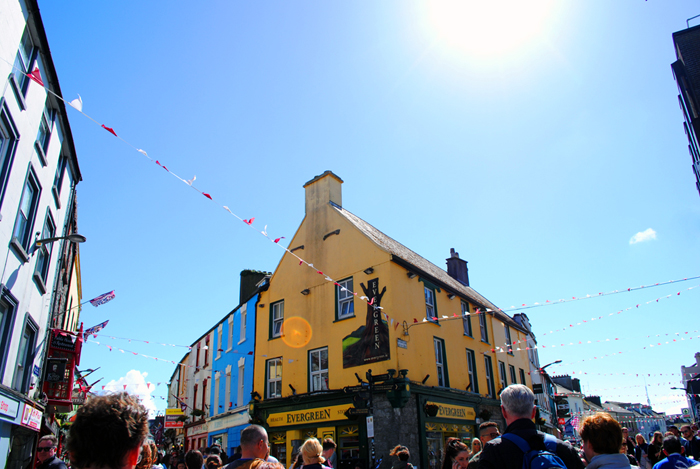 High Street in Galway, Ireland