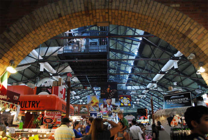 St. Lawrence Market in downtown Toronto