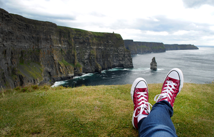 Gorgeous Cliffs of Moher in Ireland