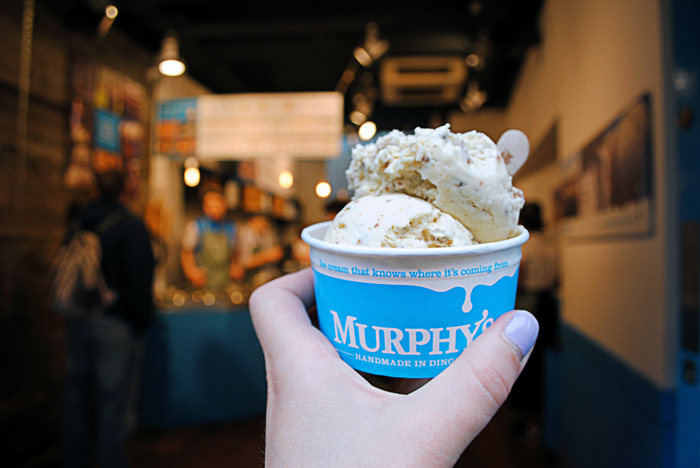 Murphy's Ice Cream - hand made in Dingle - downtown Dublin, Ireland
