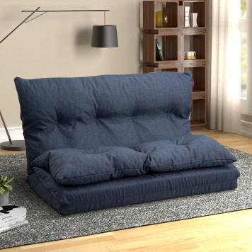 Fabric Folding Chaise Lounge