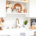 Simple Fall Decorating Ideas In The Kitchen Modern Glam