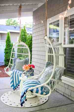 Outdoor Decorating Ideas My Summer Porch And Patio Modern Glam