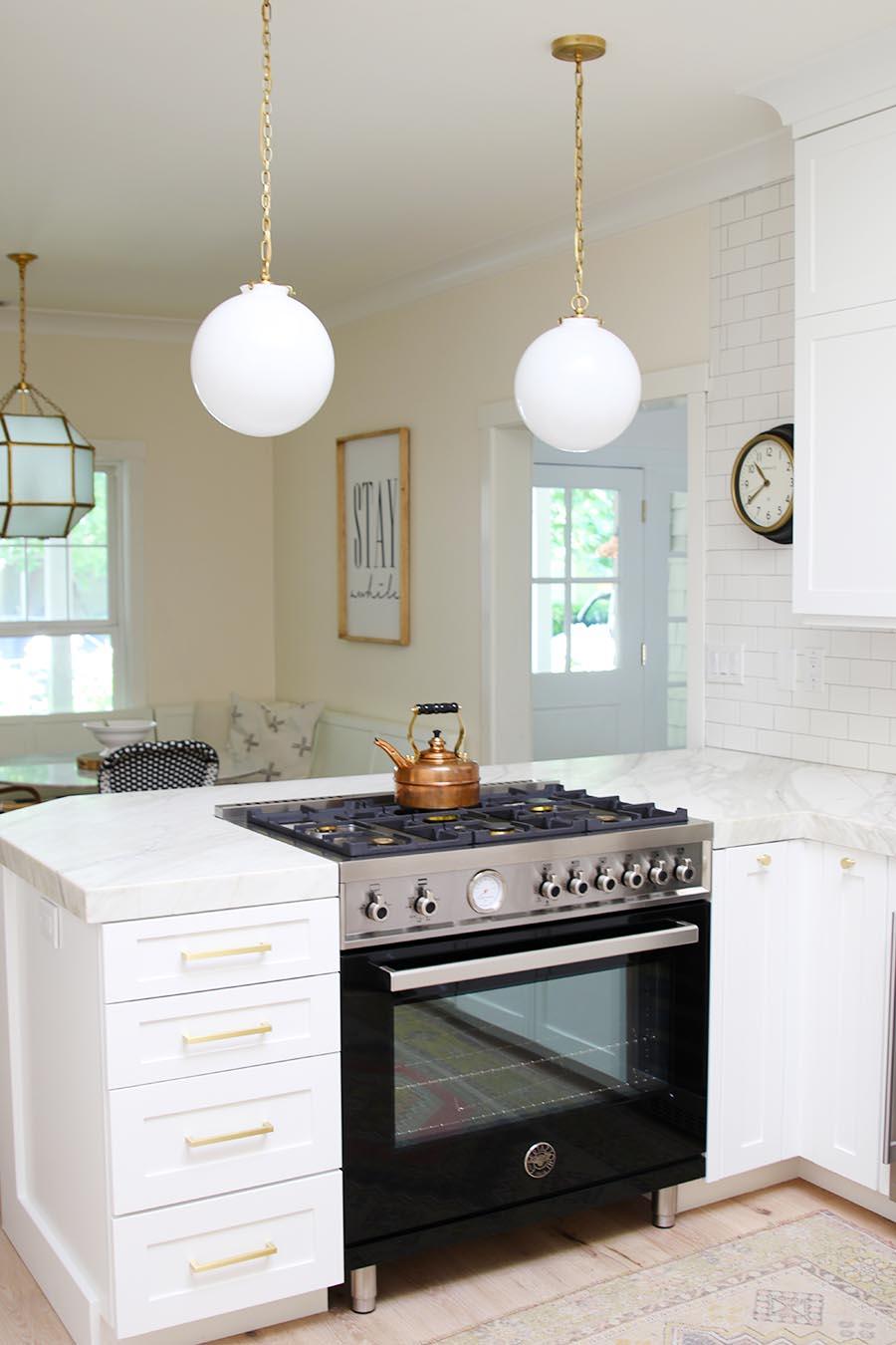 Modern Farmhouse Kitchen Reveal Modern Glam
