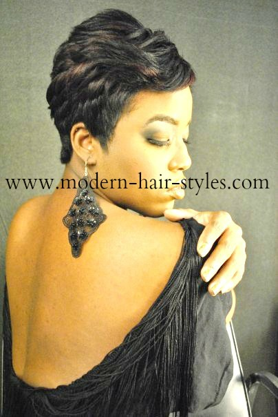 30 Black Short Hair Styles Quick Weaves Pixies And Wraps