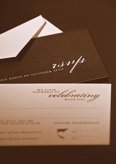 Rsvp Etiquette Traditional Favor Accepts Regrets Placement 1 Filled Out