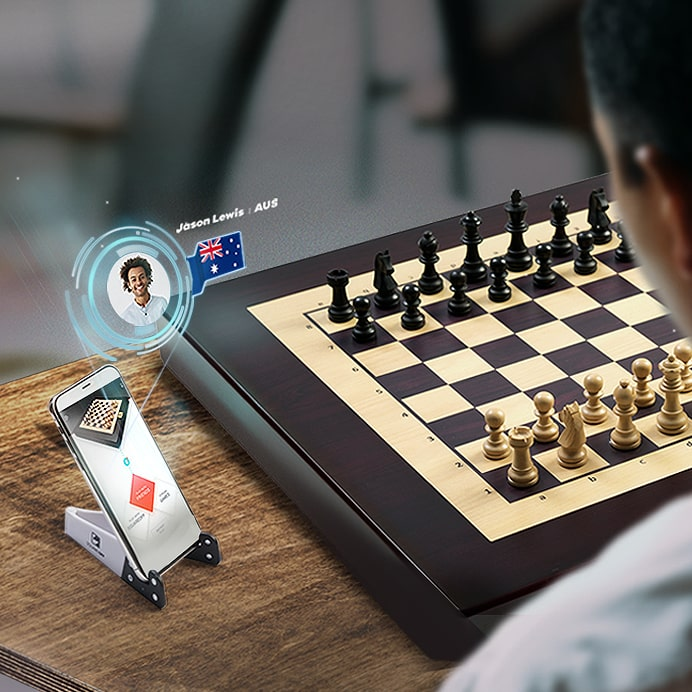Smart automated Chess Board, Play Against The AI or Anyone