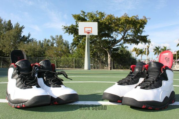air jordan 10 2012 and og comparison 14 Air Jordan 10 2012 and OG Comparison