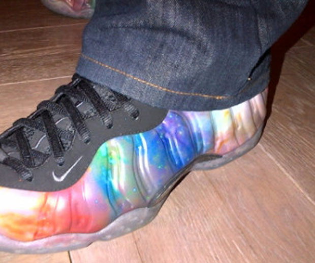 nike air foamposite one galaxy 1 Nike Air Foamposite One Galaxy New Images