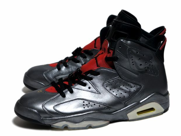 air jordan 6 metallic silver porsche customs