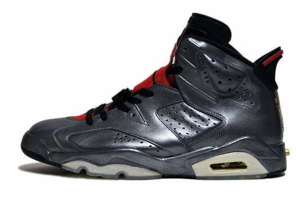 air jordan 6 metallic silver porsche customs 02