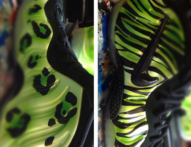 nike air foamposite one no church in the wild