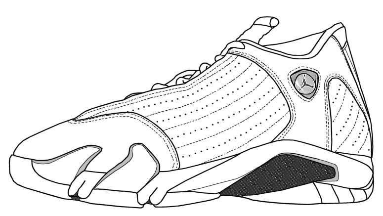 premium selection 964a7 4d262 basketball shoes coloring pages getcoloringpages com. templates