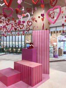 バレンタインディスプレイ イベント企画・制作会社 モダンパラダイス