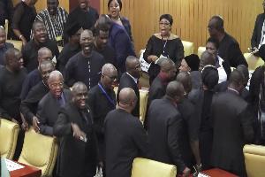 Minority boycotts 2020 State of the Nation Address
