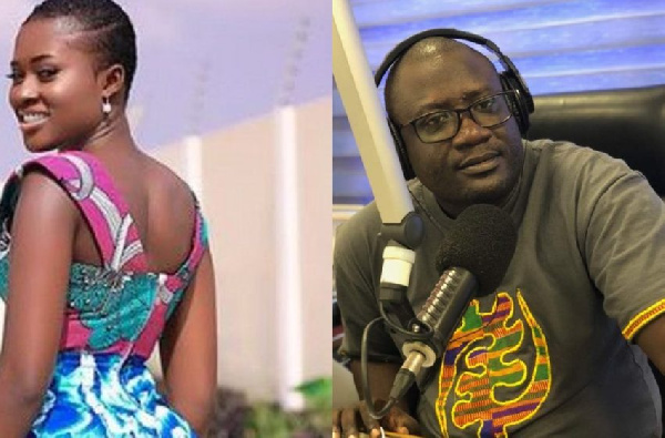 Fella Makafui and Kojo Preko Dankwa