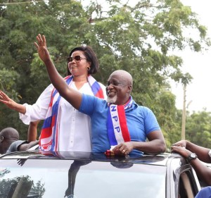 Empress Gifty abandons NDC to join husband's NPP Campaign