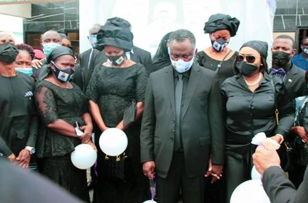 Minister invokes the Bible to defend lavish burial
