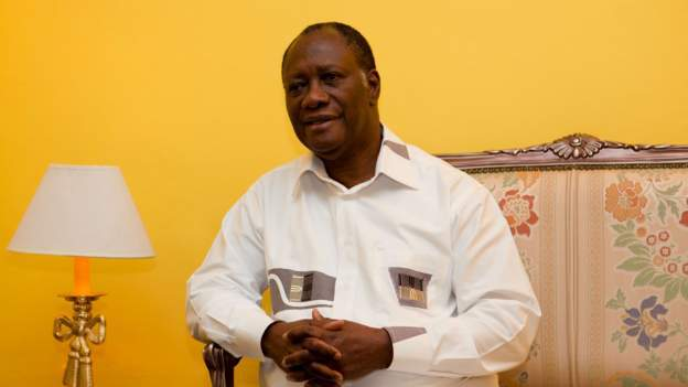 Ivory Coast leader back on duty after Covid recovery