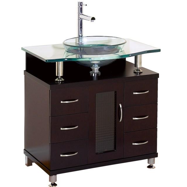 "Charlton 30"" Bathroom Vanity with Drawers - Espresso w ... on {keyword}"
