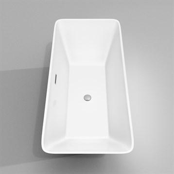 Tiffany 67 Large Soaking Bathtub By Wyndham Collection