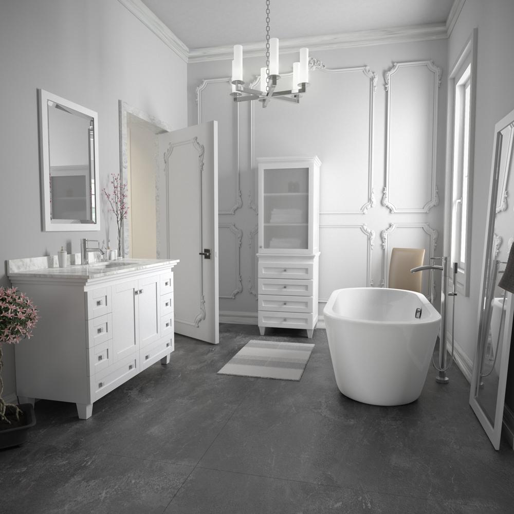 Soho 60 Soaking Bathtub By Wyndham Collection Free