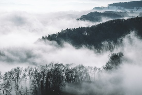 Sea of Fog by Yannick Pulver via Unsplash