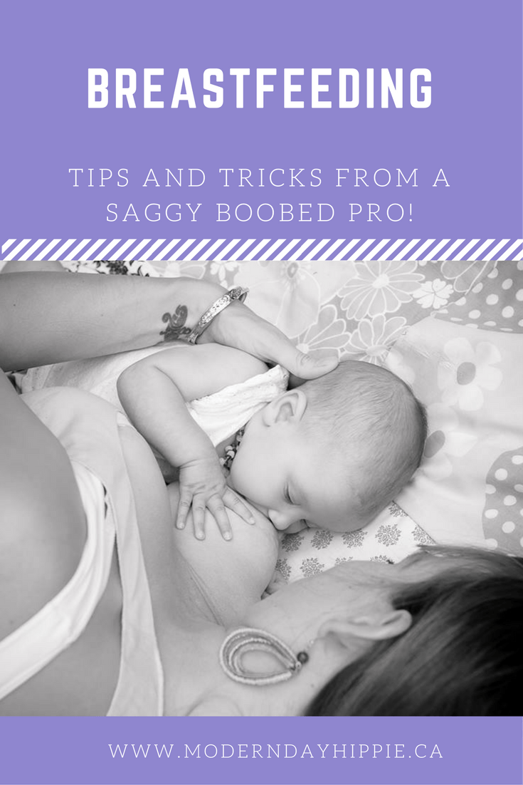 Breastfeeding: Tips and tricks from a saggy boobed pro!