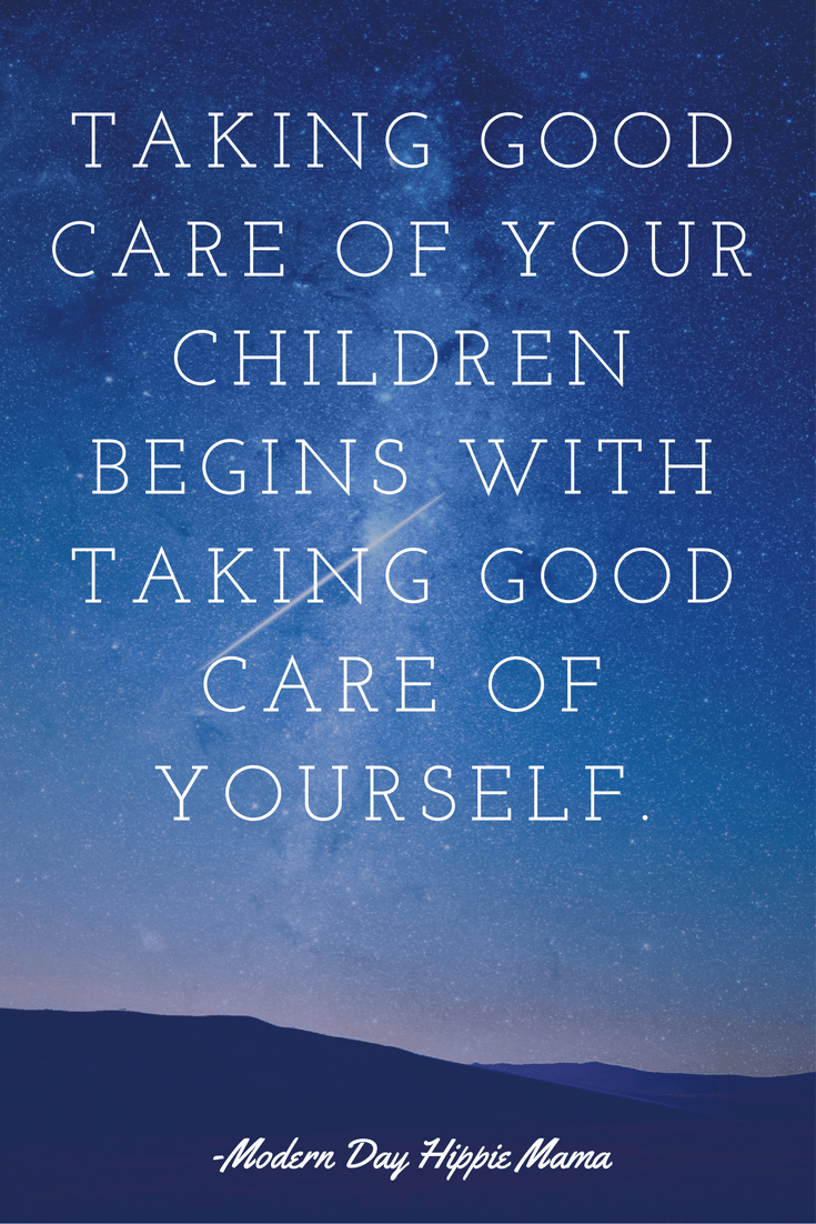 you must take care of yourself first