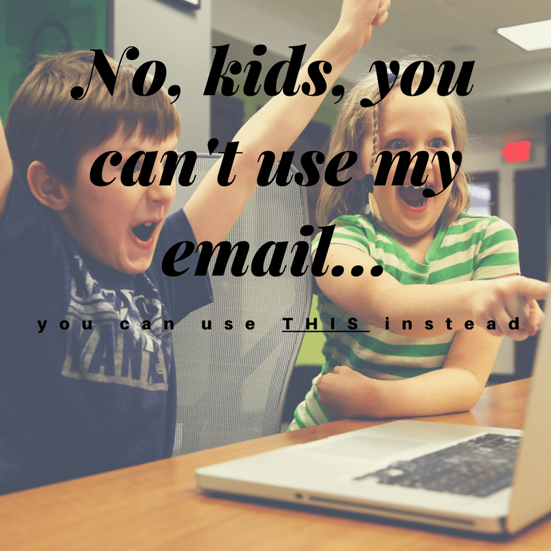 email just for kids