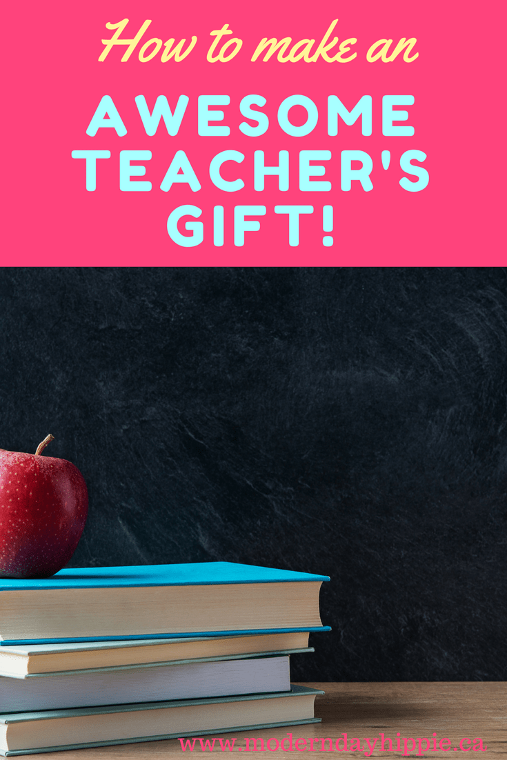 Make your kid's teacher an awesome gift to say thank you for all of their hard work throughout the year!