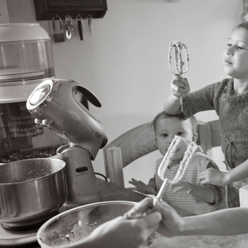 what will actually happen when you bake with kids
