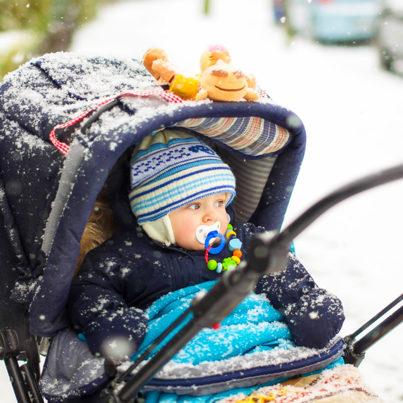 How to dress your baby for winter social media