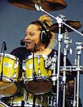 drummer Yvette Preyer