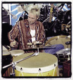 Drummer Lynn Coulter