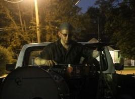 Drummer Joseph Reilly of the Winter Sounds