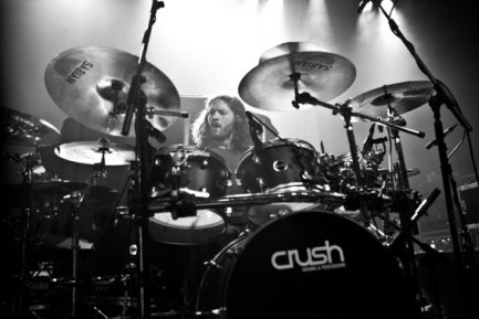 Drummer Jay Postones of TesseracT
