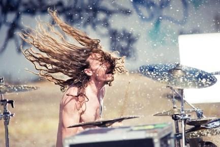 Drummer Luke Williams of Dead Letter Circus Modern Drummer Blog