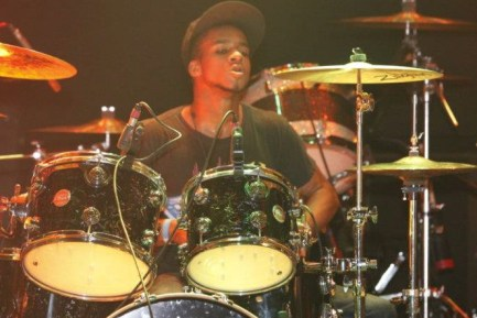 Drummer Marcus James of Super Prime