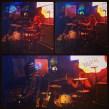 Drummer Peter Seeba in Dremend at SXSW