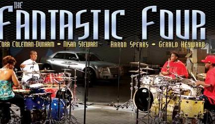 Fantastic Four : Modern Drummer