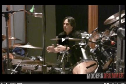 Dave Lombardo Video : Modern Drummer