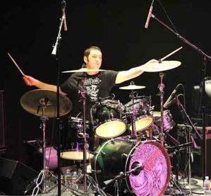 Drummer Wesley Finley of Rebelution