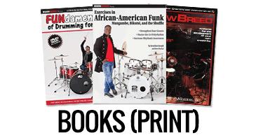 Print Books from Modern Drummer magazine
