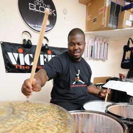 Chris Coleman in Modern Drummer Magazine