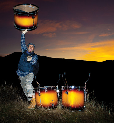 Brian Tichy in Modern Drummer Magazine June 2011